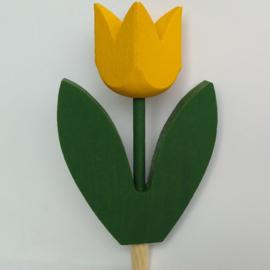 Deco groot Tulp geel