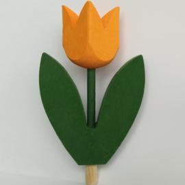 Deco groot Tulp oranje