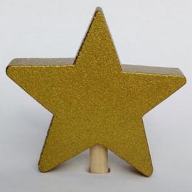 Deco klein Ster goud