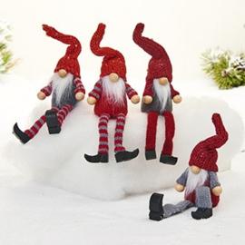 Gnome hangende benen, per stuk