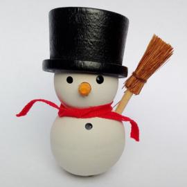 Deco klein Sneeuwpop