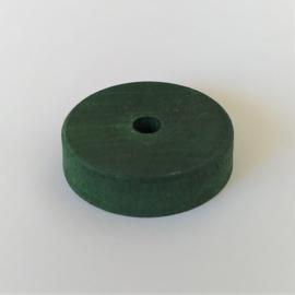 Voetplaat groot groen 36mm