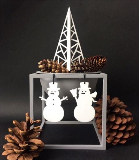 Ryborg Urban Designs sneeuwpoppen