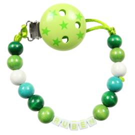 Groen met sterretjes