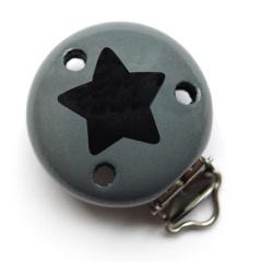 Grijs met ster zwart