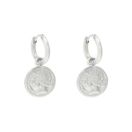 Oorbellen Coin