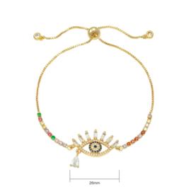 Armband Zirconia Eye