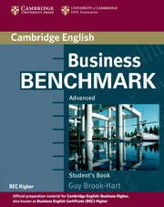 Business Benchmark Second edition Advanced Student's Book BEC Higher edition