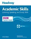 Headway Academic Skills 3 Listening, Speaking, And Study Skills Teacher's Guide With Tests Cd-rom