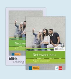 Netzwerk neu A2.1 - Media Bundle Studentenboek en Oefenboek met Audios/Videos inklusive Lizenzcode für das Studentenboek en Oefenboek met interaktiven Übungen