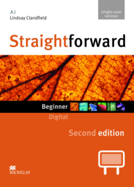 Straightforward 2nd Edition Beginner Level  IWB DVD ROM Single User License