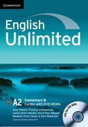 English Unlimited Combos Elementary B Combo with DVD-ROMs (2)
