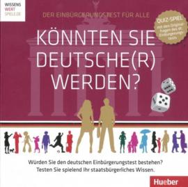 Könnten Sie Deutsche(r) werden? Spiel