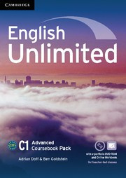 English Unlimited Advanced Coursebook with ePortfolio and Online Workbook Pack