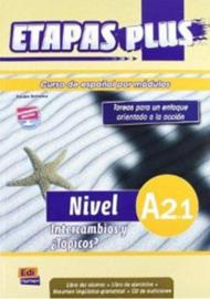 Etapas Plus A2.1. Intercambios y ¿Tópicos? - Libro del alumno/Ejercicios + CD