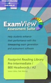 Footprint Reading Library 800 - Examview Cd-rom (x1)
