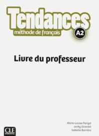 Tendances - Niveau A2 - Livre du professeur