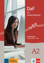 DaF im Unternehmen A2 Multimediapakket (2 Audio-CDs + DVD)