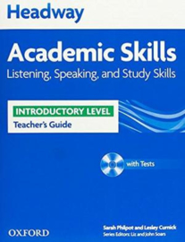 Headway Academic Skills Introductory Listening, Speaking, And Study Skills Teacher's Guide With Tests Cd-rom