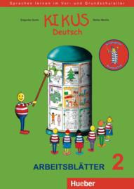 KIKUS Deutsch Arbeitsblätter 2 (4 bis 7 Jahre)