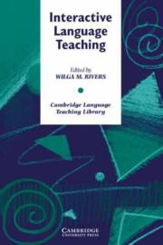 Interactive Language Teaching Paperback
