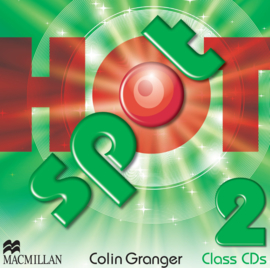 Hot Spot Level 2 Class Audio CD (2)