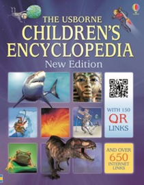 Children's encyclopedia with QR links