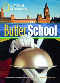 Footprint Reading Library 1300: Butler School Book With Multi-rom (x1)