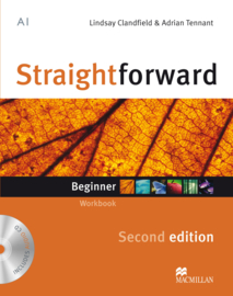 Straightforward 2nd Edition Beginner Level  Workbook & Audio CD without Key