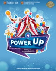 Power Up Level4 Activity Book with Online Resources and Home Booklet