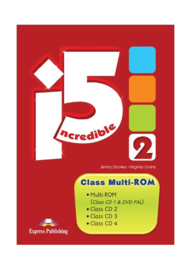 Incredible 5 2 Class Multi Rom Pal (set Of 4) International
