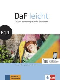 DaF leicht B1.1 Studentenboek en Übungsbuch met DVD-ROM