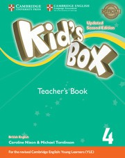 Kid's Box Updated Second edition Level4 Teacher's Book