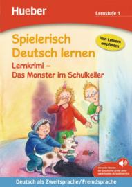 Lernkrimi – Das Monster im Schulkeller Buch met MP3-Download
