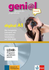 geni@l klick A1 Lehrwerk digital mit interaktiven Tafelbildern