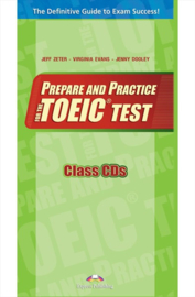 Prepare & Practice For The Toeic Tests  Class Cds(set Of 7) International