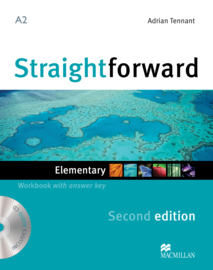 Straightforward 2nd Edition Elementary Level  Workbook & Audio CD with Key