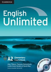 English Unlimited Elementary Coursebook with ePortfolio