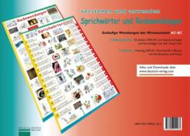 Plakate Sprichwörter en Redewendungen 2 Übungshefte en 2 Plakate