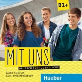 Mit uns B1+ 1 Audio-CD bij het Studentenboek 1 Audio-CD bij het Werkboek