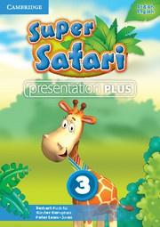 Super Safari British English Level3 Presentation Plus DVD-ROM