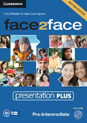face2face Second edition Pre-intermediate Presentation Plus DVD-ROM