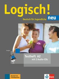 Logisch! neu A2 Testheft met 2 Audio-CDs