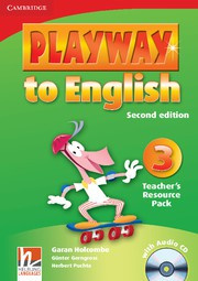 Playway to English Second edition Level3 Teacher's Resource Pack with Audio CD