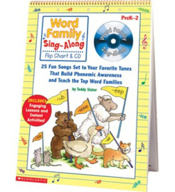 Word Family Sing-Along Flip Chart  CD