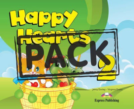 Happy Hearts 2 Pupil's Pack 3 (with Multi-rom Pal & Optionals) (new)