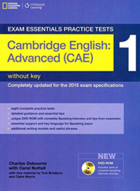 Exam Essentials: Cambridge Advanced Practice Test 1 without Key + Dvd-rom