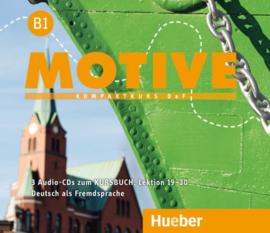 Motive B1 Audio-CDs bij het Studentenboek Lektion 19–30