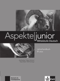 Aspekte junior B1 plus Lerarenboek
