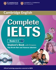 Complete IELTS Bands4-5B1 Student's Book with answers with CD-ROM
